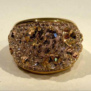 Large Multi-Crystal Ring